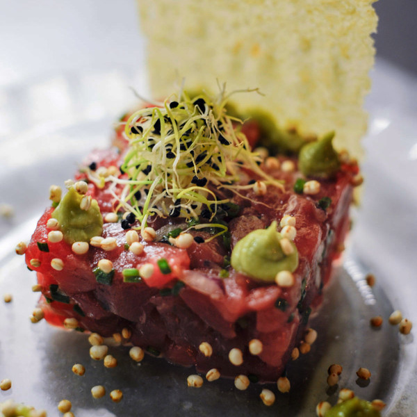 Red tuna tartare